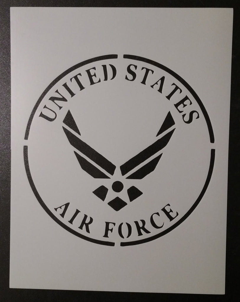 U.S. Air Force (Round) - Stencil