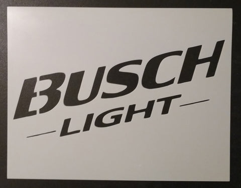 Busch Light Beer - Stencil
