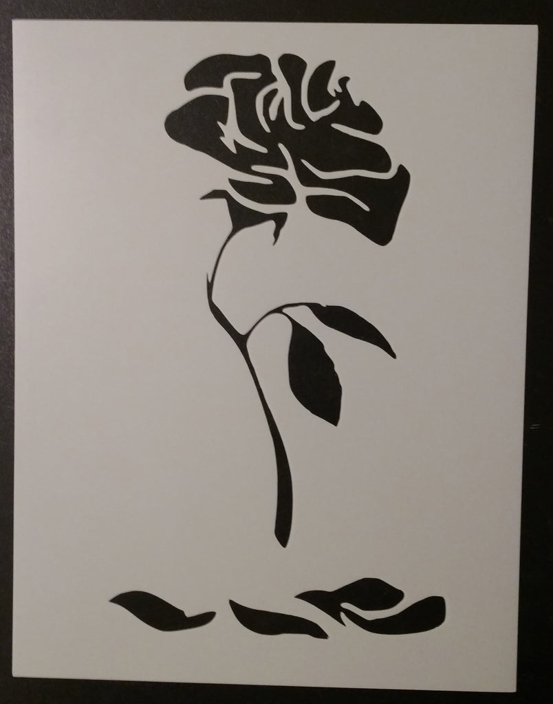 Enchanted Rose - Stencil