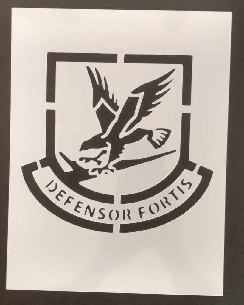 Air Force Security Defensor Fortis - Stencil