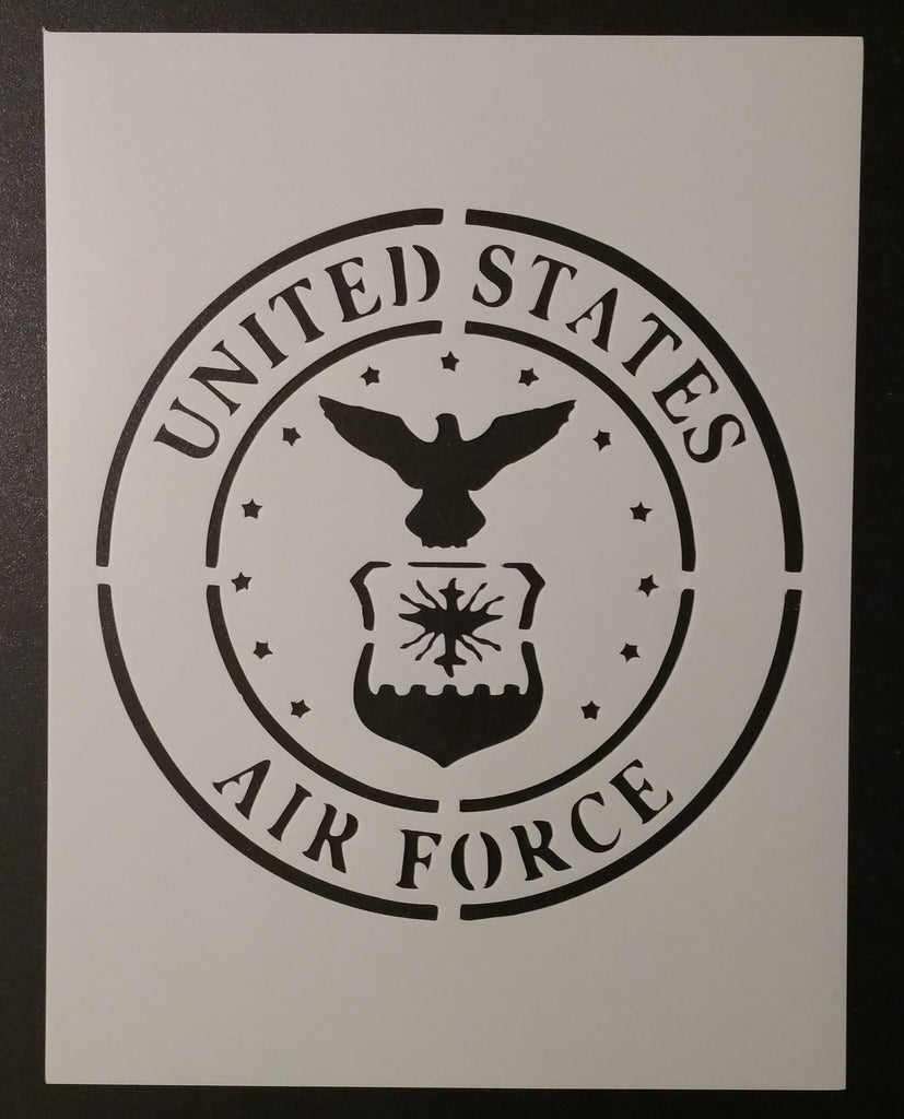 U.S. Air Force (Round #2) - Stencil