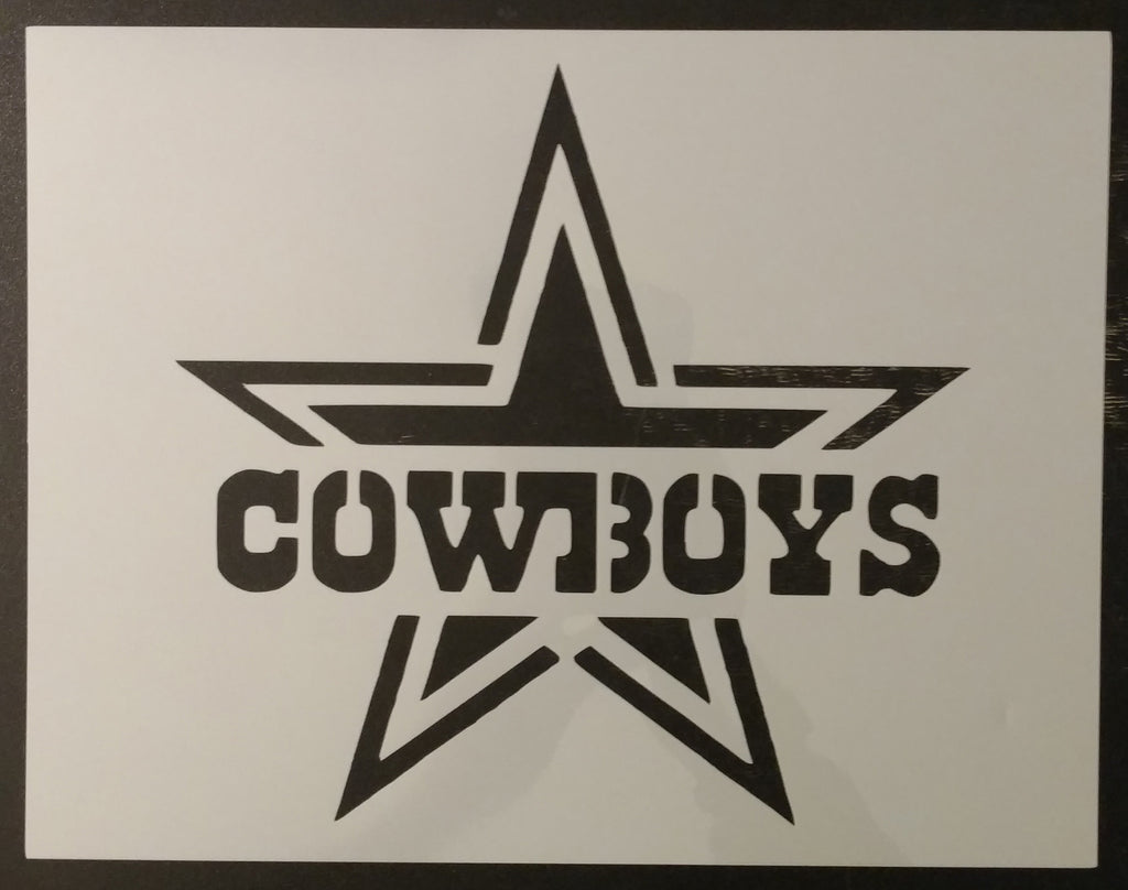Dallas Cowboys - Stencil