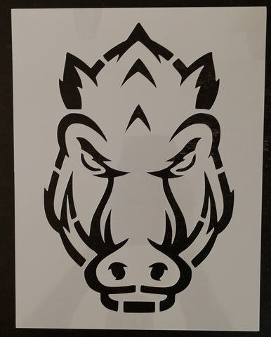 Arkansas Razorbacks #2 - Stencil