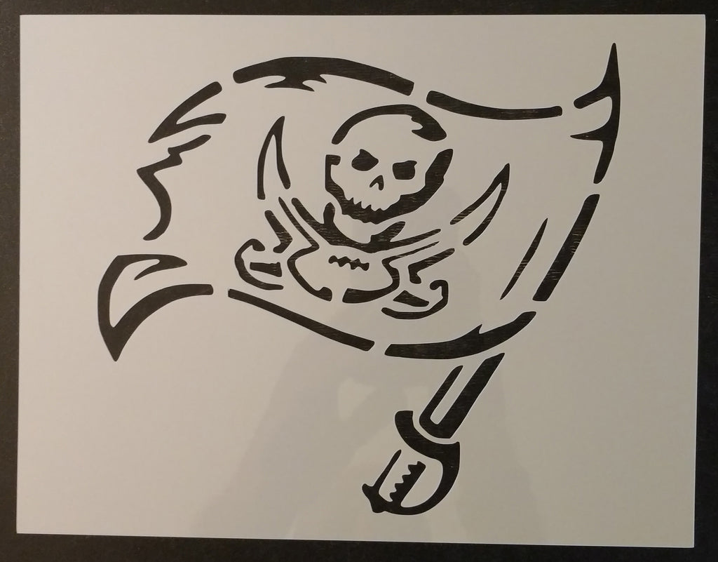 Tampa Bay Buccaneers - Stencil