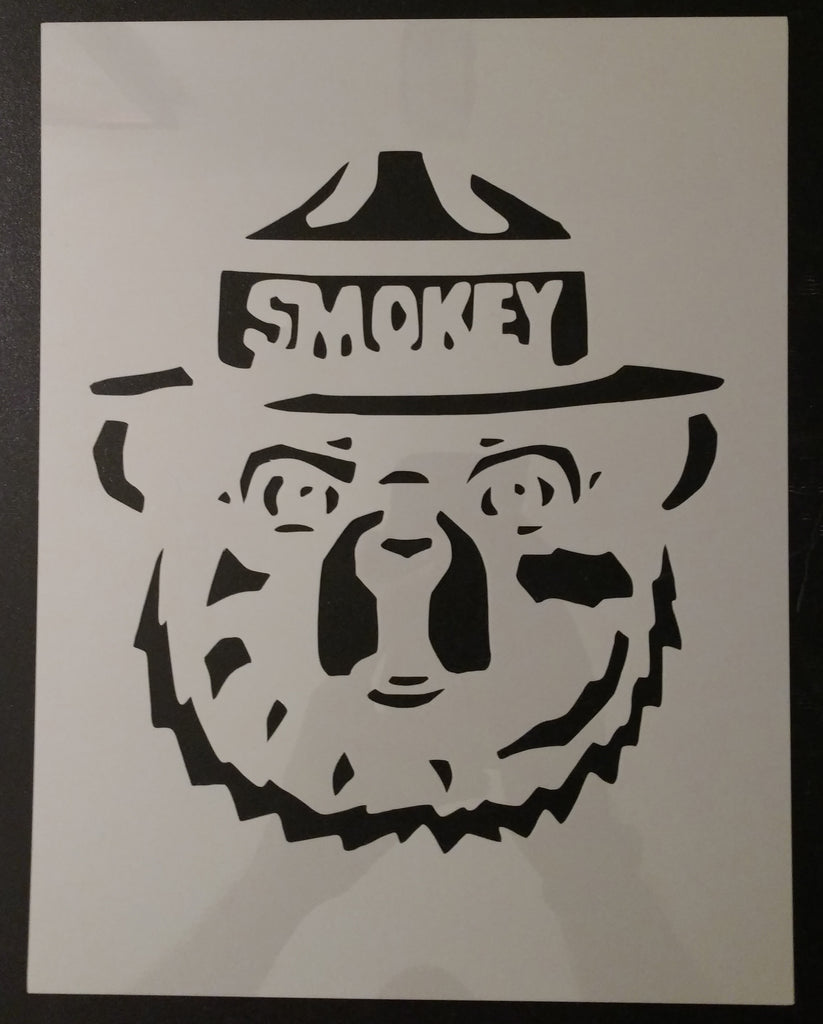 Smokey The Bear - Stencil