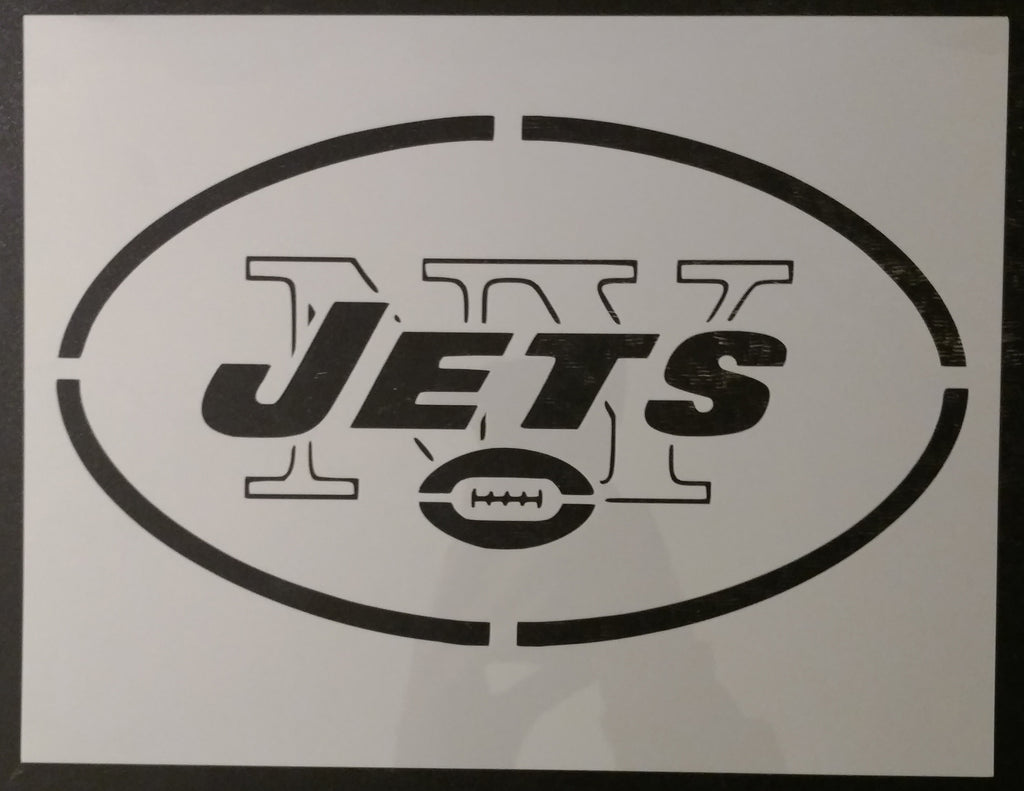 NY New York Jets - Stencil