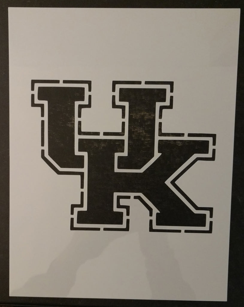 NEW University of Kentucky - Custom Stencil