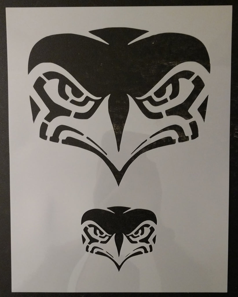 New Seattle Seahawks Custom Stencil