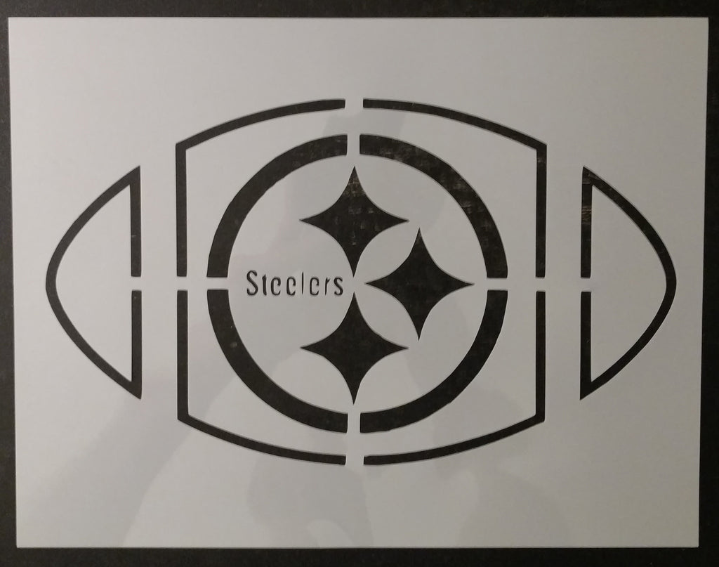 Pittsburgh Steelers Football Custom Stencil