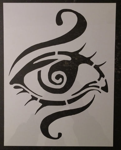 3rd Third Eye Chakra Yoga Chakras Custom Stencil