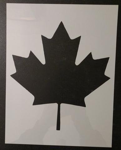 Canada Canadian Maple Leaf Custom Stencil
