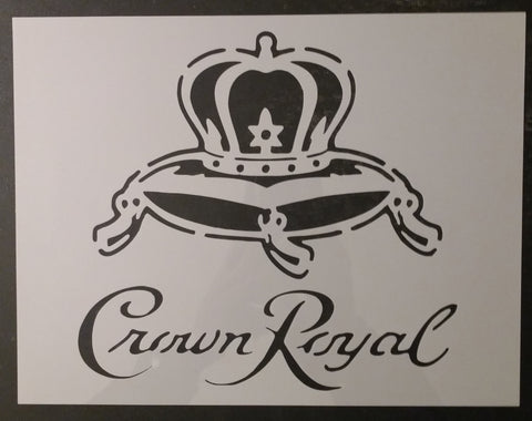 Crown Royal Custom Stencil