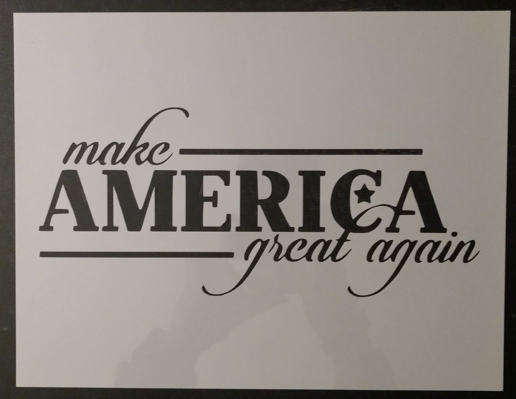 Trump Make America Great Again MAGA Custom Stencil