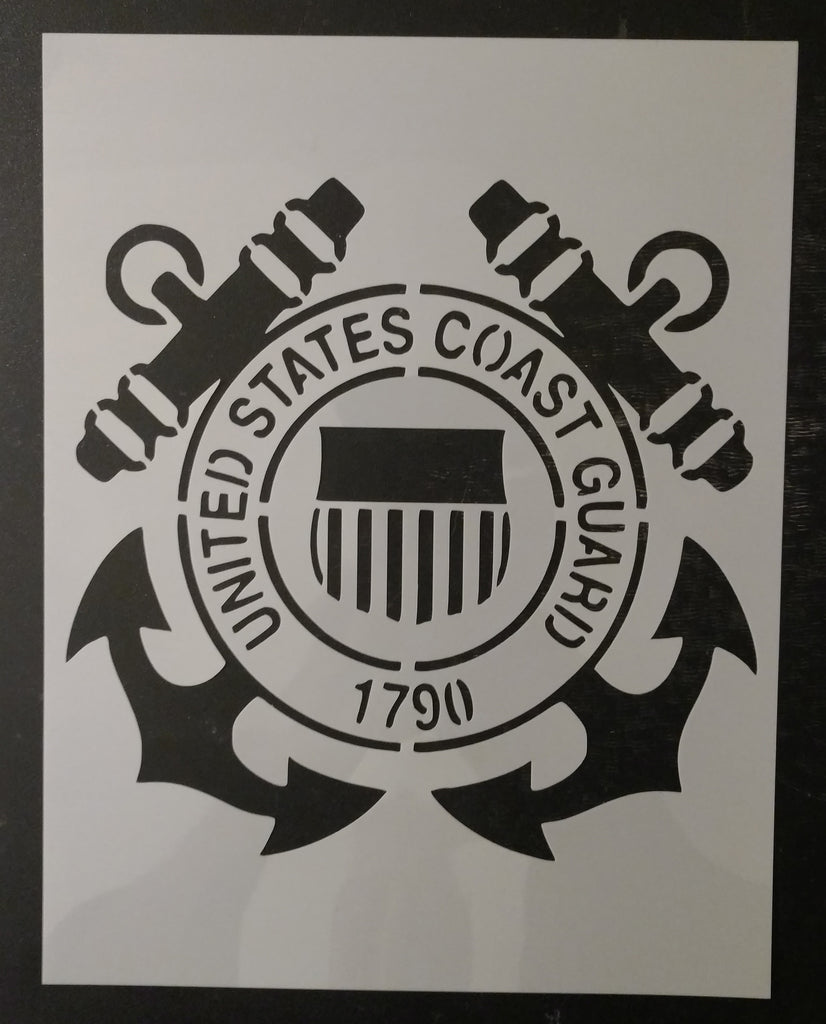United States Coast Guard 1790 Custom Stencil