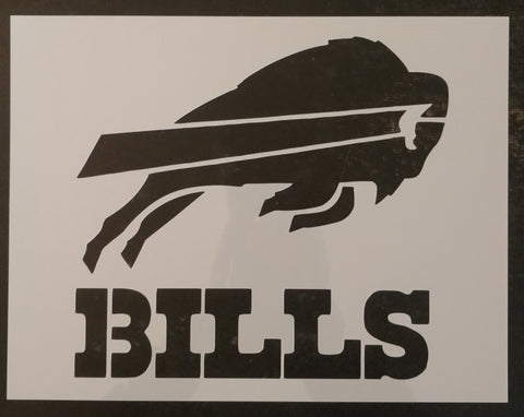 Buffalo Bills - Custom Stencil
