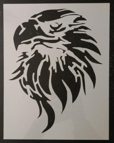 Eagle Head Custom Stencil