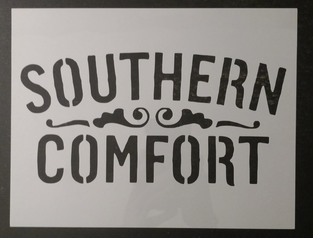 Southern Comfort Custom Stencil