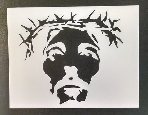 Jesus Christ Crown of Thorns - Stencil