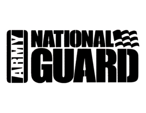 Army National Guard Custom Stencil