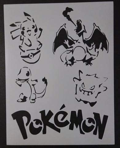 Pokemon - Stencil
