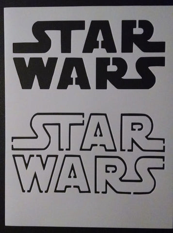 Star Wars Logo - Stencil