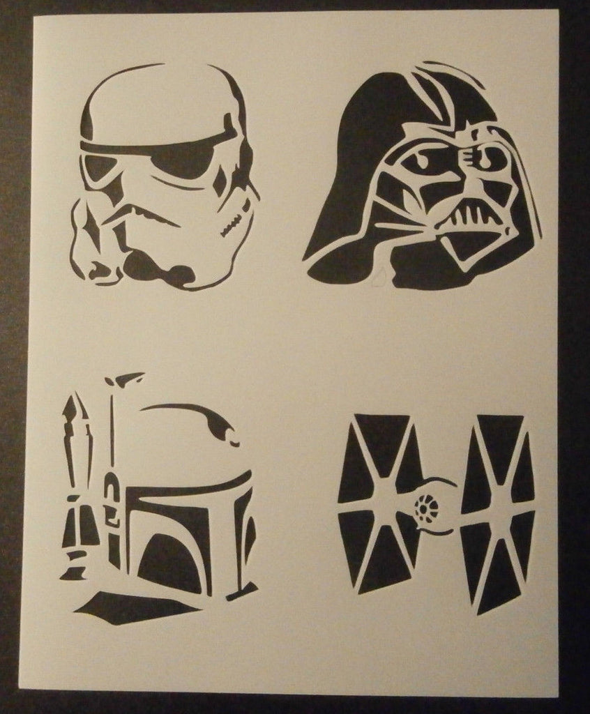 Star Wars Bad Guys - Stencil