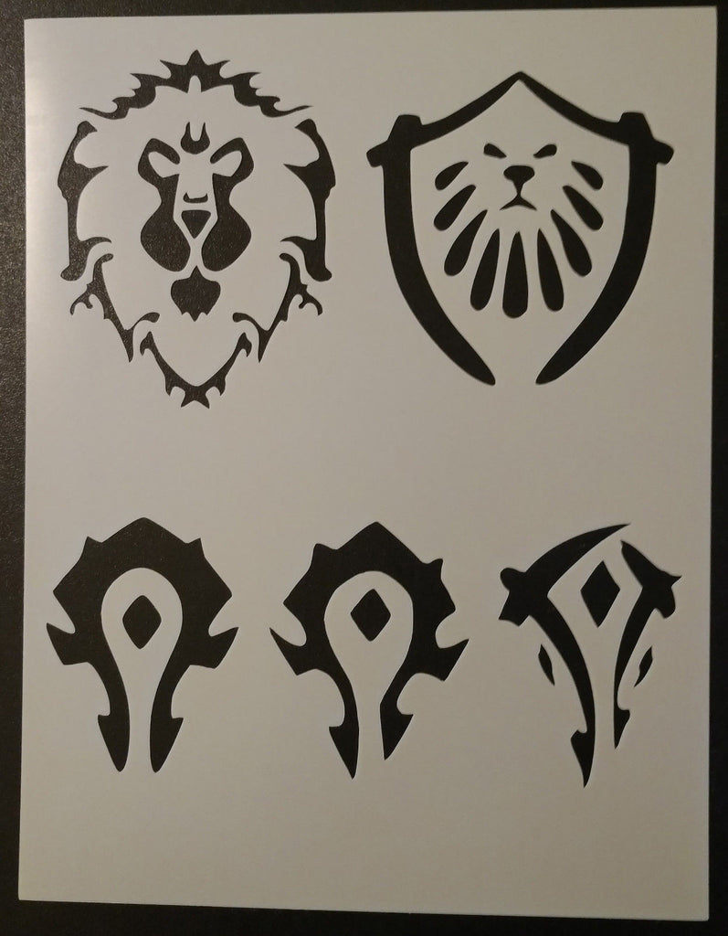 World of Warcraft WOW - Stencil