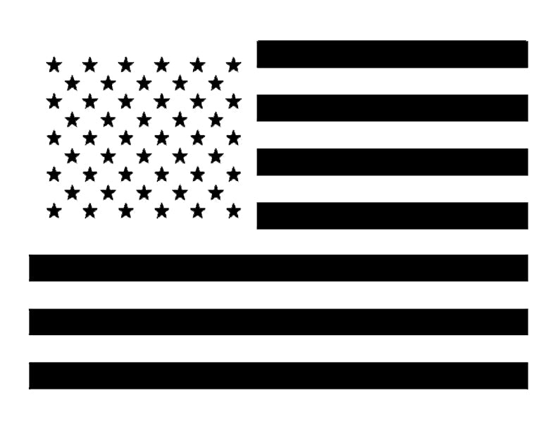 US American Flag - Custom Stencil
