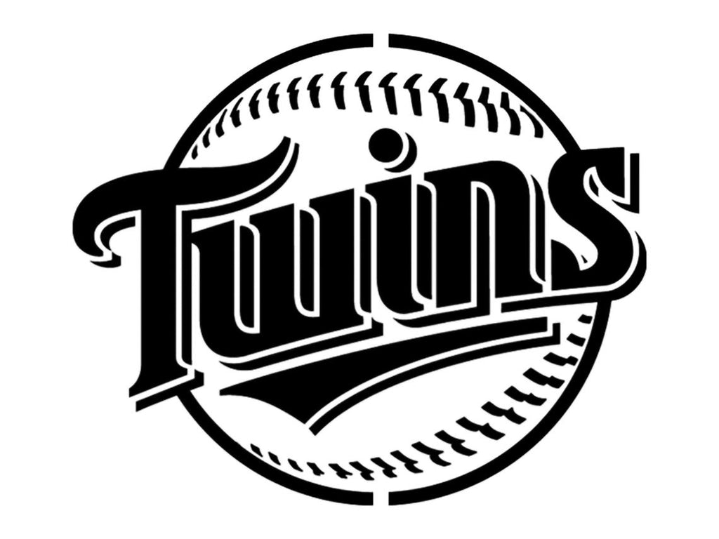 Minnesota Twins Baseball - Custom Stencil