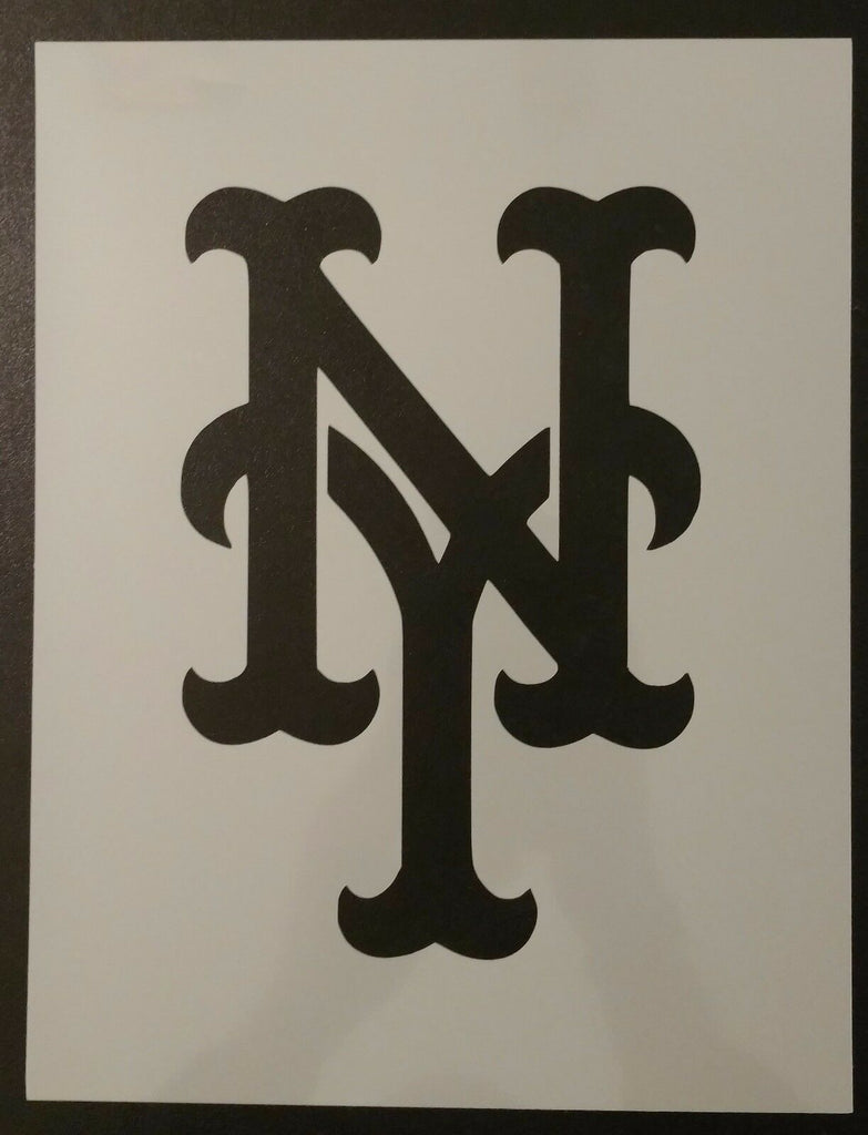 NY New York Mets - Custom Stencil