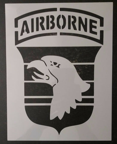 101st Airborne Division Patch - Custom Stencil