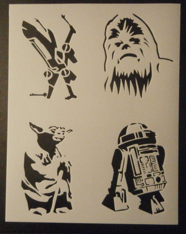 Star Wars Good Guys - Stencil