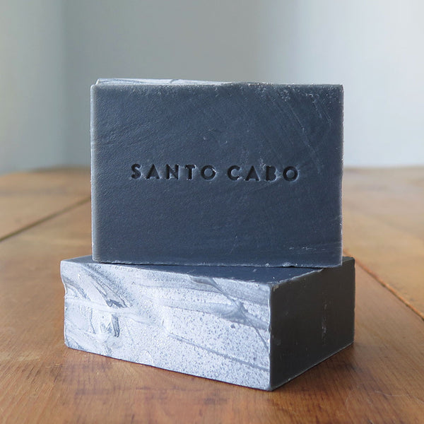 Carbon Soap Bar Stacked