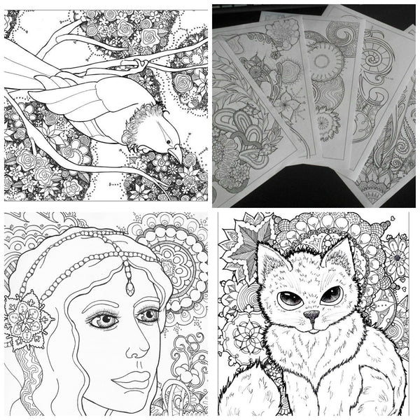Awesome Colouring Books