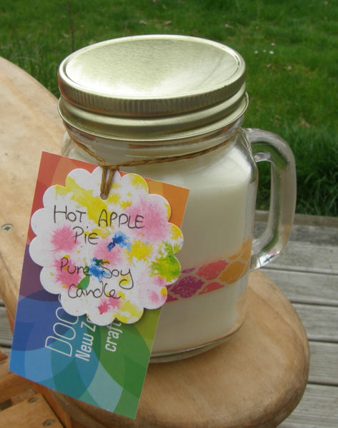 Pure Soy Jar Candle: 'Hot Apple Pie'
