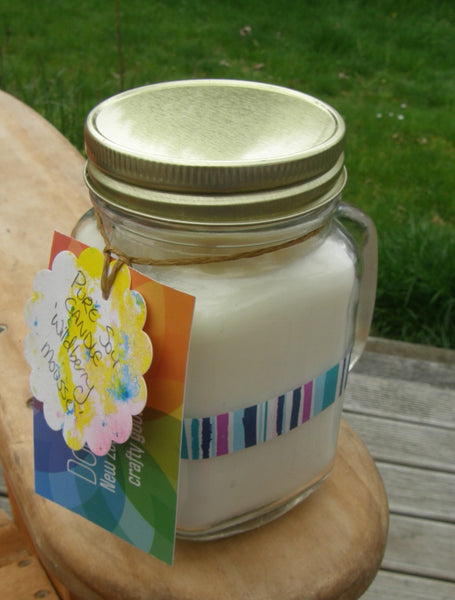Pure Soy Jar Candle: 'Wildberry Mousse'
