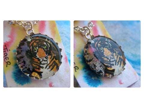 Gorgeous Necklace: 'Tiger'