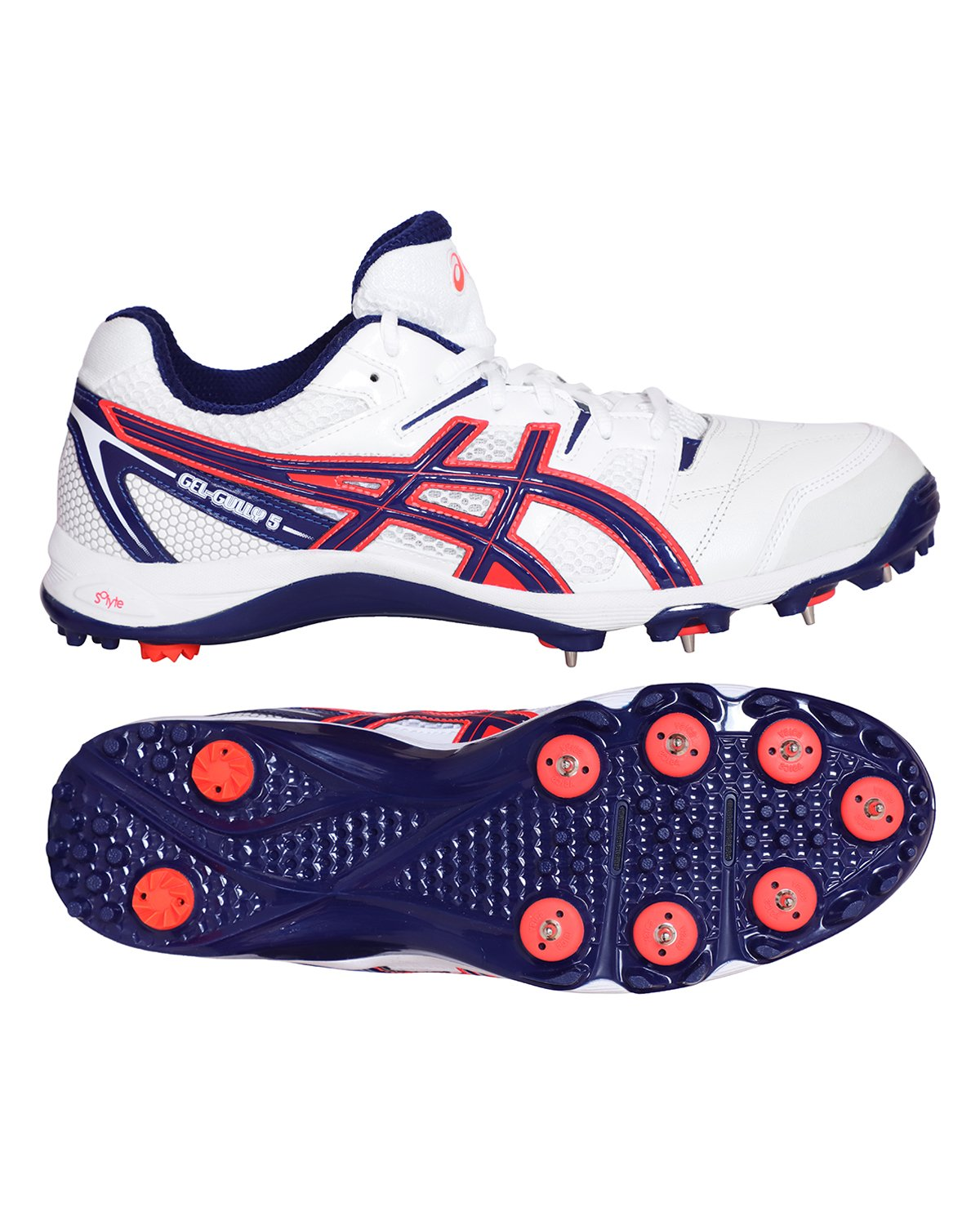 ASICS Gel Gully 5 Cricket Shoes - Steel Spikes