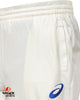 Asics White Cricket Trouser Senior