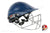 Ayrtek PremAYR Cricket Batting Helmet - Steel