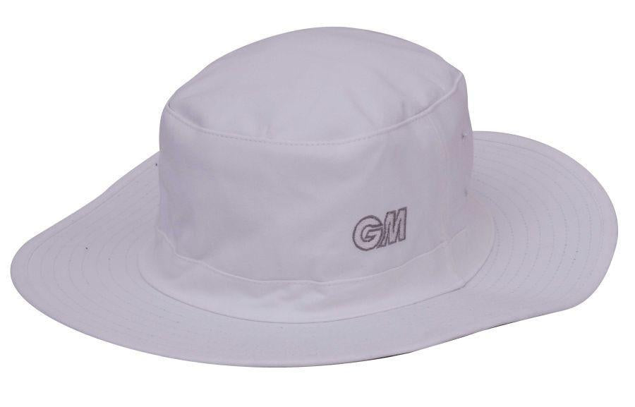 GM Cricket Hat white