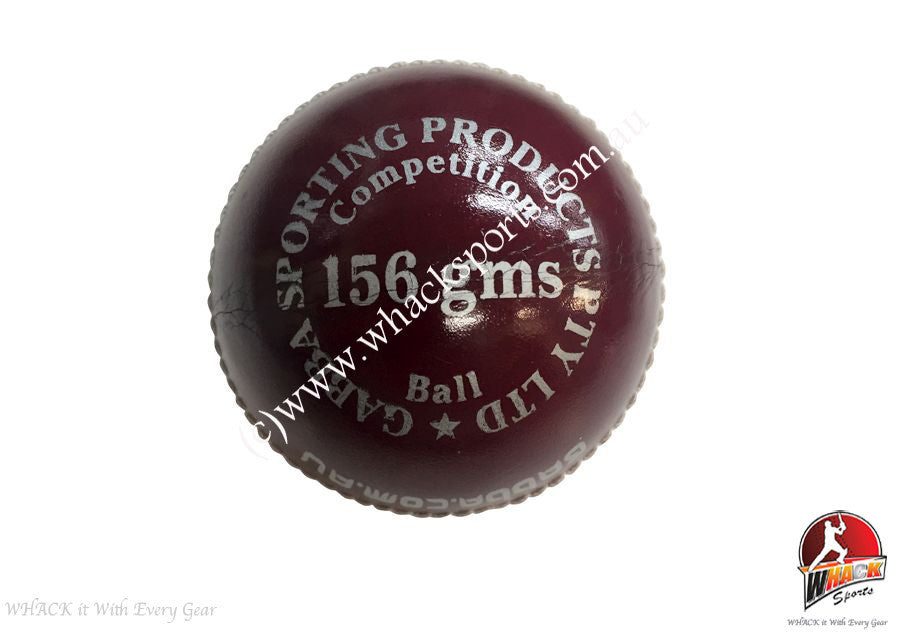 Gabba Aussie Excel 156g 4 pce Red Cricket Ball