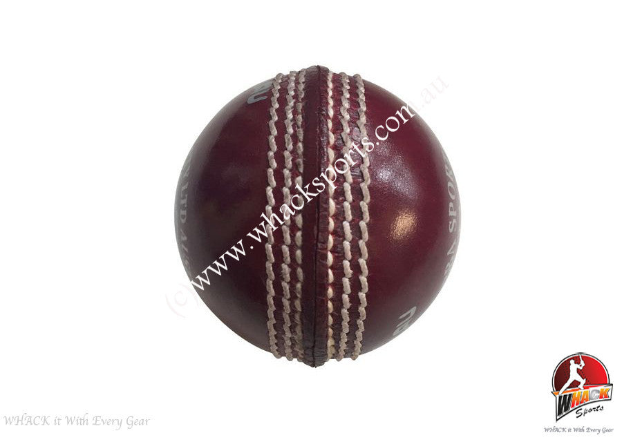 Gabba Turbo 2 pce 142g Red Cricket Ball