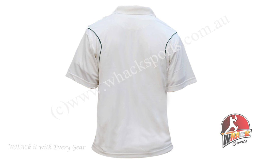Kookaburra Cream Cricket Half  Sleeve Shirt Senior