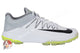 Nike Domain 2 Rubber Spikes Cricket Shoes - Green/Grey