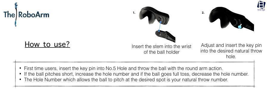 Leverage Roboarm Ball Thrower