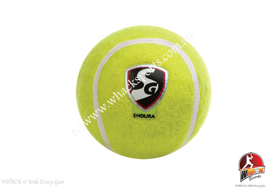 SG Endura Hard Tennis Cricket Ball