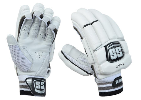 SS Test Player Grade Cricket Batting Gloves - Men