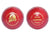 WHACK Legend English Leather Cricket Ball - 2 Piece - 156gm - Red