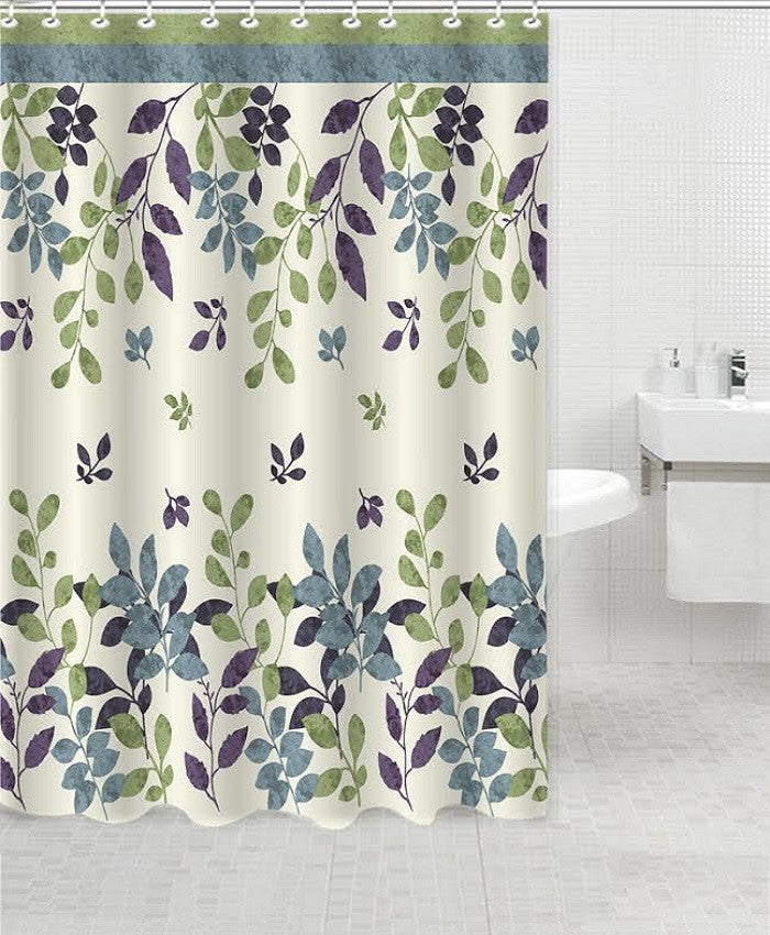 Elegant Touch Shower Curtain Bloom